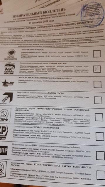 Смоляне голосуют за ЕР