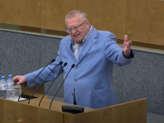 """В.В. Жириновский предрек России """"белорусский сценарий"""""""