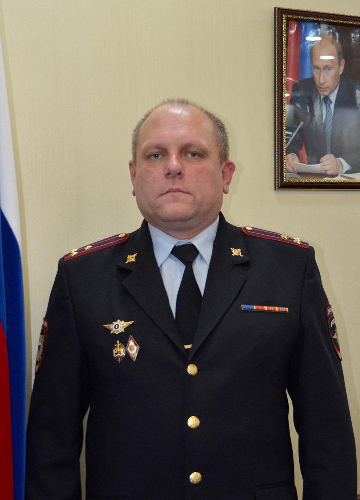 Заместитель начальника полиции УМВД России по Смоленской области Виктор Леонидович Григорьев